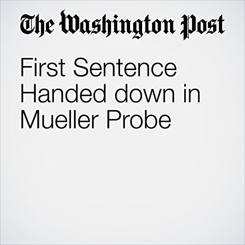First Sentence Handed down in Mueller Probe copertina
