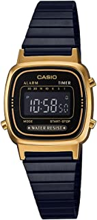 Casio Casual Watch Digital Display for Women LA670WEGB-1BEF