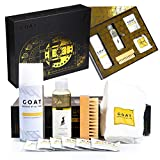 GOAT SHIELD Premium Shoe Cleaning Kit Limited Edition Vault Gift Box - Comes with Shoe Protector...