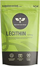 Lecithin 1200mg 90 Softgel Capsules – High Strength Diet and Weight Loss Supplement UK Made Pharmaceutical Grade Estimated Price : £ 8,99
