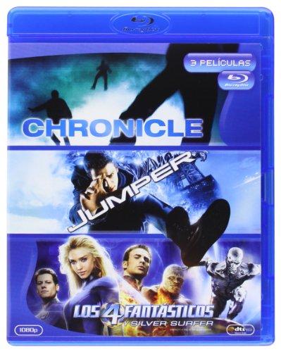 Pack: Chronicle + Jumper + Los 4 Fantásticos Y Silver Surfer [Blu-Ray] [Blu-R