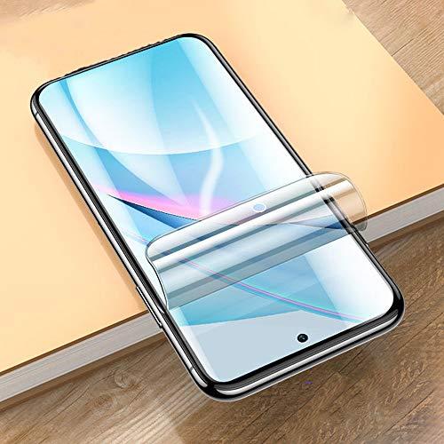 ONICOGEAR (Nicht Panzerglas) Kompatibel mit Xiaomi Mi 10T Lite Schutzfolie,TPU Full Screen Handy Bildschirm Folie für Xiaomi Mi 10T Lite(2 Stück)