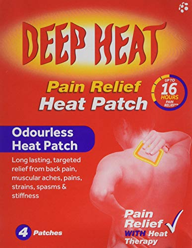 Deep Heat Pain Relief Heat Patches for back pain