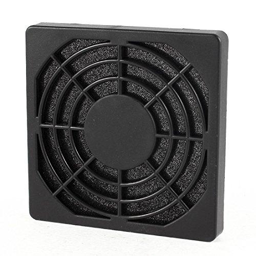 N/A - Rejilla de plástico antipolvo para ventilador de caja de ordenador (80 mm)