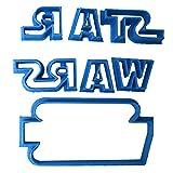 Cuticuter Star Wars Fondant Schneider, blau, 8x 7x 1.5cm