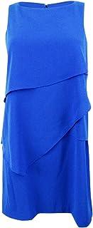 Jessica Howard Womens Chiffon Ruffled Dress