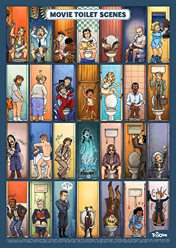 Mr. Troove Movie Toilet Scenes - Poster 42 x 59,4 cm