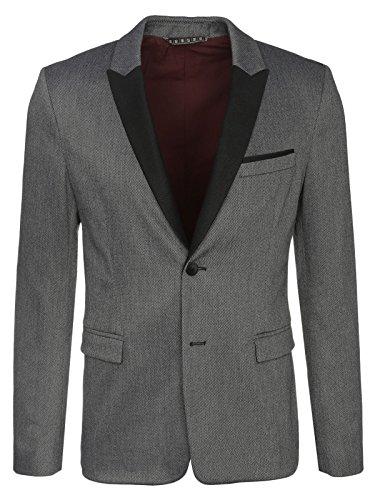 BOSS Herren Barkaa BS Jacke, Grau (Light/Pastel Grey 055), XX-Large (Herstellergröße: 52)