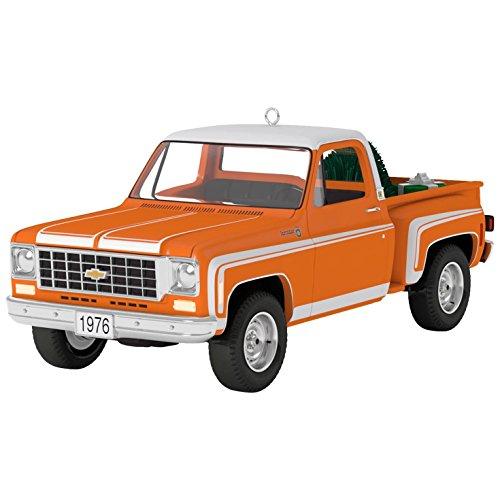 Hallmark Keepsake 2017 All-American Trucks 1976 Chevrolet C-10 Sport Dated Christmas Ornament