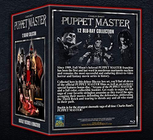 Puppet Master 12 Blu-Ray Complete Box Set