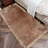 alfombra marron dormitorio