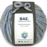 BAE by Living Dreams Yarn. Cuddly, Strong & Super Soft for Next to Skin Winter Knits. 100% Extrafine Merino Bulky Roving Yarn, Going Steady