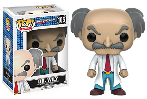 Funko - 105 - Pop - Megaman - Dr. Willy