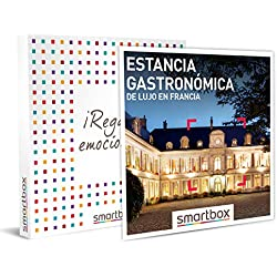 Smartbox - Caja Regalo - Estancia gastronómica Francia - Idea de Regalo - 1 Noche con Desayuno y Cena para 2 Personas