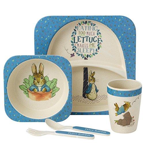 Beatrix Potter A27754 Peter Rabbit Organic Dinner Set