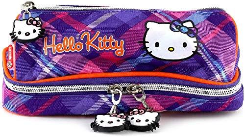 HELLO KITTY Kinder-Sporttasche, Violett