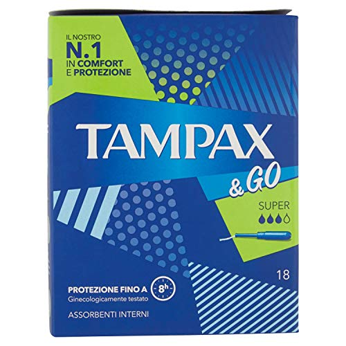 Tampax & Go Super X18 Tampons