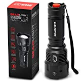 GearLight High-Powered LED Flashlight S1200 - Mid Size, Zoomable, Water Resistant, Handheld Light - High Lumen Camping, Outdoor, Emergency Flashlights