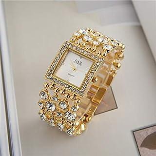 JINN-Women's Watches - G&D Luxury Brand 2018 Women's Bracelet Watches Diamond Gold Ladies Dress Watch Quartz Wristwatches ...