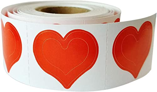 3-Way Heart Tanning Stickers 50 Count