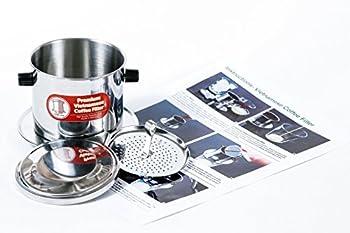 Vietnamese Drip Coffee Maker Filter Single Cup Serve Inox 6 oz Small