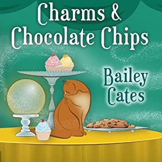 Charms and Chocolate Chips     Magical Bakery Mystery, Series # 3              By:                                                                                                                                 Bailey Cates                               Narrated by:                                                                                                                                 Amy Rubinate                      Length: 7 hrs and 41 mins     847 ratings     Overall 4.4