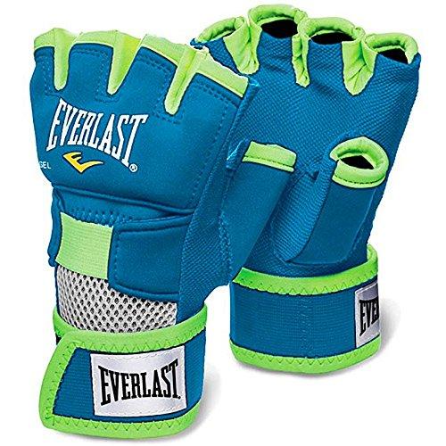 Everlast Erwachsene Boxartikel 1300 Evergel Handwraps, Blue, L, 057167 58350
