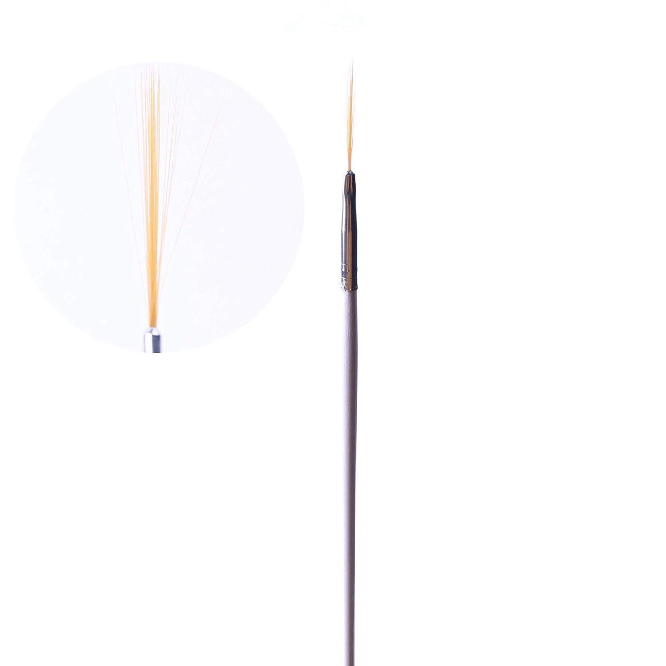 各札入れ逆説Semoic ネイルアート用の15個のネイルブラシと5個のダブルドットツールペンセット