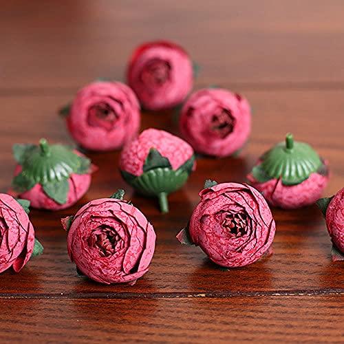 Sonze Bolsa de té pequeña de simulación, Accesorios para guirnaldas de Boda-I_10Pcs,Ramos de Novia, arreglos Florales,Flor Falsa para Boda Decoración