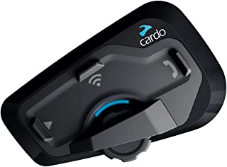 Cardo Freecom 4 PLUS 4-Way Bluetooth Communication System Headset With JBL Audio Rider (Black, Single Pack, FRC4P001)