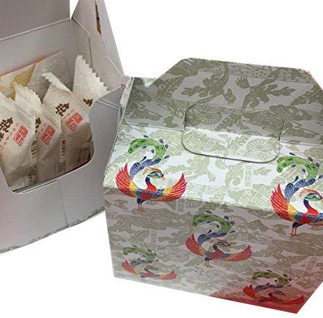 銘菓 琉球酥 万果酥 2点詰合せ プチセット 6個入×1箱 琉球T&P アップルマンゴの特製粒入りあん入り