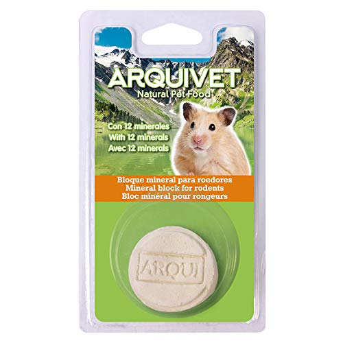 Arquivet Bloque mineral - roedores - 60 g