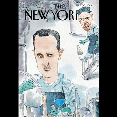 The New Yorker, September 30th 2013 (Ariel Levy, Xan Rice, George Packer) cover art