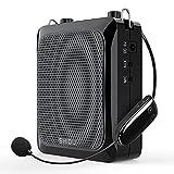 Amplificador de voz Bluetooth, amplificador de micrófono inalámbrico...