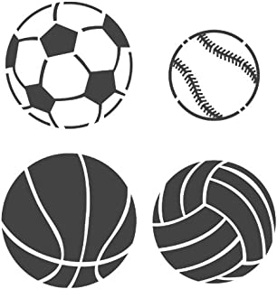 basketball stencil images