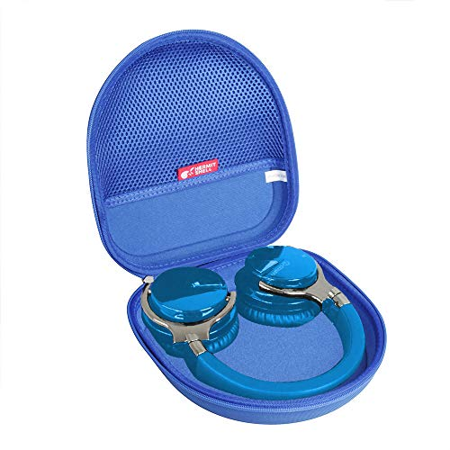 Hermitshell Hard Travel Case for COWIN E7 Active Noise Cancelling Headphones Bluetooth Headphones (Blue)
