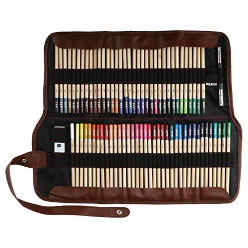 Amycute - Lápices de dibujo, 72 lápices de colores, herramientas de dibujo,...