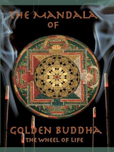 Mandala of Golden Buddha - The Wheel of Life