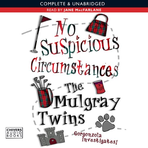 No Suspicious Circumstances audiobook cover art