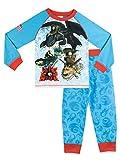 Dragons - Pijama para Niños - Cómo Entrenar a tu dragón - 3 a 4 Años