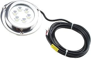 ACAMPTAR 5 pezzi 12V 20A impermeabile rotonda On//Off interruttore a bilanciere Auto Auto SPST