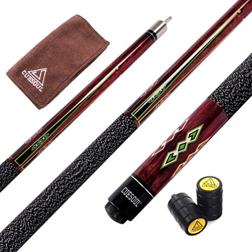 Cuesoul 57Inches quick release joint snooker cue, CSPC015