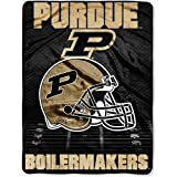 The Northwest Company Purdue Boilermakers Plush Throw Blanket