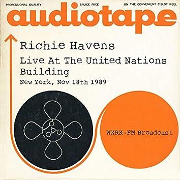 Richie Havens - Live At The United Nations Building, New York, Nov 18th 1989 WXRK-FM Broadcast