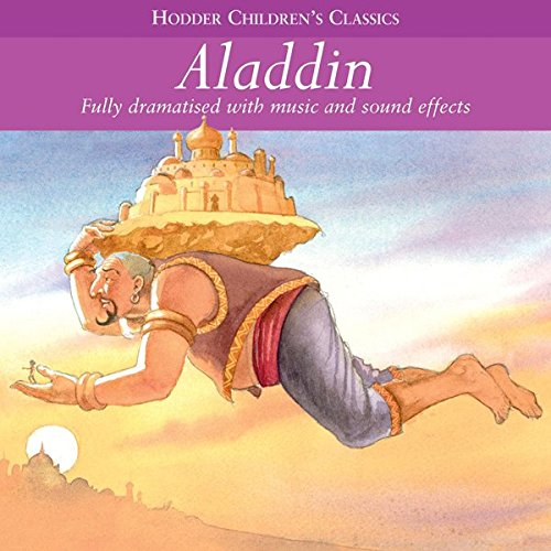 Aladdin audiobook cover art