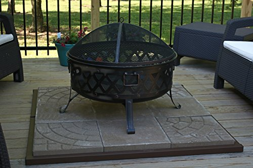 Goods of the Woods Fire Pit Safety Base
