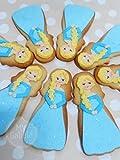 Lote de 8 Galletas decoradas artesanalmente de Princesa