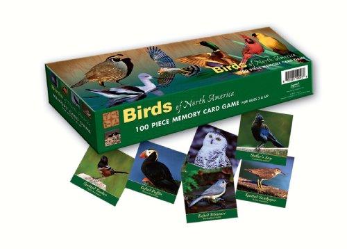Memory Game Birds of North America