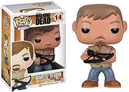 A-Generic 1yess The Walking Dead figur – Daryl Dixon pop figur form amerikansk TV-serier samling armborst bror 10 cm