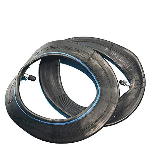 Neumáticos amortiguadores para Scooters eléctricos 8 1 / 2x2 Tubo Interior de Goma de butilo Espesa Especial, Adecuado para reemplazo de Tubo Pro de Scooter eléctrico de 8.5 Pulgadas, 2 Piezas